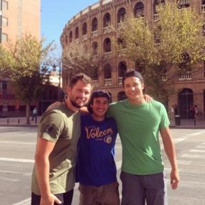 Outside the Plaza de Toros